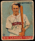 Baseball Cards:Singles (1930-1939), 1933 Goudey Jim Bottomley #44....