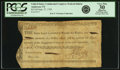 Colonial Notes:Continental Congress Issues, United States Congress Federal Indent September 27, 1785 $25 Fr.UNL Anderson-Smythe 172. PCGS Very Fine 30 Apparent.. ...