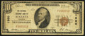National Bank Notes:Georgia, Augusta, GA - $10 1929 Ty. 1 The National Exchange Bank Ch. # 1860. ...
