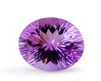 Gemstone: Amethyst - 14.14 Ct. Brazil 18 x 14.9 x 10 mm