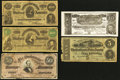Confederate Notes:Group Lots, Quartet of Confederate Facsimiles and Reproductions.. ... (Total: 5notes)