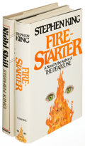 Books:Horror & Supernatural, Stephen King. Night Shift [and:] Firestarter. NewYork: [1978, 1980]. Book Club editions, each inscribed... (Total: 2Items)