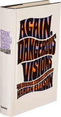 Books:Science Fiction & Fantasy, Harlan Ellison. Again, Dangerous Visions. Garden City: 1972.Second printing, signed by Ellison with three pages of ...