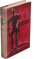 Books:Science Fiction & Fantasy, Isaac Asimov. I, Robot. New York: Gnome Press, Inc.Publishers, [1950]. First edition, Inscribed by Asimov on the ti...