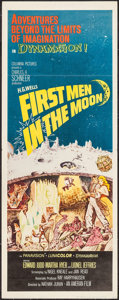 "Movie Posters:Science Fiction, First Men in the Moon (Columbia, 1964). Insert (14"" X 36""). Science Fiction.. ..."