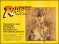 "Movie Posters:Adventure, Raiders of the Lost Ark (Paramount, 1981). British Quad (30"" X 40"")and Program (34 Pages, 8.5"" X 11""). Adventure.. ... (Total: 2Items)"