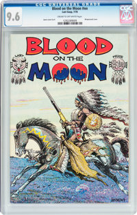 Blood on the Moon #nn (Last Gasp, 1978) CGC NM+ 9.6 Cream to off-white pages