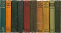 Books:Fiction, Edgar Rice Burroughs. Collection of Ten First Editions. Chicago: A.C. McClurg & Co., 1914-1928.... (Total: 10 Items)