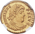 Ancients:Roman Imperial, Ancients: Valens (AD 364-378). AV solidus (21mm, 4.45 gm, 6h)....