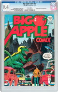 Bronze Age (1970-1979):Alternative/Underground, Big Apple Comix #nn (Big Apple Productions, 1975) CGC NM 9.4 White pages....