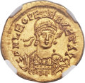 Ancients:Roman Imperial, Ancients: Leo I the Great, Eastern Roman Emperor (AD457-474). AV solidus (21mm, 4.46 gm, 6h)....