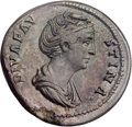 Ancients:Roman Imperial, Ancients: Diva Faustina Senior, wife of Antoninus Pius (died AD141). Orichalcum sestertius (33mm, 29.12 gm, 5h)....