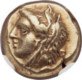 Ancients:Greek, Ancients: IONIA. Phocaea. Ca. 387-326 BC. EL sixth stater or hecte(10mm, 2.56 gm)....