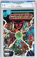 Modern Age (1980-Present):Superhero, Crisis on Infinite Earths #3 (DC, 1985) CGC NM/MT 9.8 Whitepages....