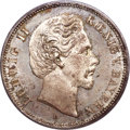 German States:Bavaria, German States: Bavaria. Ludwig II 5 Mark 1874-D MS65 PCGS,...