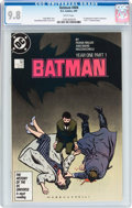 Modern Age (1980-Present):Superhero, Batman #404 (DC, 1987) CGC NM/MT 9.8 White pages....