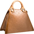"Luxury Accessories:Bags, Louis Vuitton Bronze Vernis Leather Forsyth GM Bag. ExcellentCondition. 13"" Width x 9"" Height x 6"" Depth. ..."