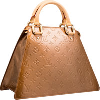 "Louis Vuitton Bronze Vernis Leather Forsyth GM Bag Excellent Condition 13"" Width x 9"" Height x 6"" Depth&a..."