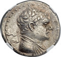Ancients:Greek, Ancients: GRECO-BACTRIAN KINGDOM. Heliocles (ca. 145-130 BC). ARtetradrachm (32mm, 16.92 gm, 11h)....