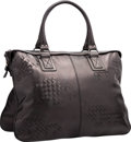 "Luxury Accessories:Bags, Bottega Veneta Black Intrecciato Nappa Leather Tote Bag. VeryGood to Excellent Condition. 17"" Width x 12"" Height x1...."