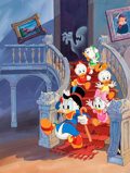 Original Comic Art:Covers, Disney's DuckTales Magazine #6 Cover Painting (Walt Disney,1989)....