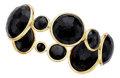 Estate Jewelry:Bracelets, Black Onyx, Gold Bracelet, Ippolita. ...