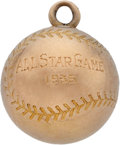Baseball Collectibles:Others, 1936 All-Star Game Charm Presented to Umpire Bill Stewart....