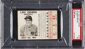 Baseball Collectibles:Tickets, 1941 Lou Gehrig Memorial Game Ticket Stub. ...