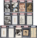 Baseball Collectibles:Others, 1910's-30's Baseball Hall of Famers Signed Autographs Lot of 14....
