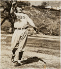 Baseball Collectibles:Photos, 1940's Grover Cleveland Alexander Signed Photograph. ...