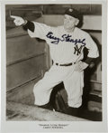 Baseball Collectibles:Photos, 1970's Casey Stengel Signed Photograph. ...