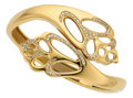 Estate Jewelry:Bracelets, Diamond, Gold Bracelet, Angela Cummings for Tiffany & Co.. ...