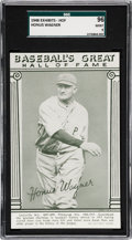 Baseball Cards:Singles (1940-1949), 1948 Baseball's Great HOF Exhibits Honus Wagner SGC 96 MINT 9 -None Higher. ...