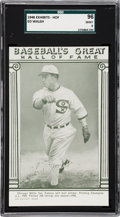 Baseball Cards:Singles (1940-1949), 1948 Baseball's Great HOF Exhibits Ed Walsh SGC 96 MINT 9 - PopOne, None Higher!...