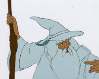 Lord of the Rings Gandalf the White Production Cel (United Artists/Ralph Bakshi, 1978)
