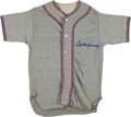 Baseball Collectibles:Uniforms, 1950's Ted Williams Camp Signed Little League Jersey. ...
