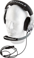 Football Collectibles:Others, 2008 Tom Coughlin Game Worn New York Giants Super Bowl XLII Motorola Headset. ...