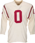 "Football Collectibles:Uniforms, Circa 1959-60 Johnny Olszewski Game Worn Washington Redskins Jersey - Most Famous Player to Wear ""0""!..."