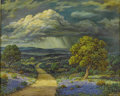 Texas:Early Texas Art - Impressionists, ORVILLE A. CAMPBELL (American). Vanishing Sunshine, 1970.Oil on canvas. 24 x 30in.. Signed and dated lower right. ...