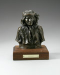 Sculpture, JUAN DELL (American 1933 - ). Geronimo. Bronze (Fenn Bronze). 6.5 x 5 x 3in.. Numbered: 14/30. Signed and numbere...
