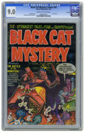 Golden Age (1938-1955):Horror, Black Cat Mystery #36 File Copy (Harvey, 1952) CGC VF/NM 9.0 Creamto off-white pages. Used in Seduction of the Innocent...