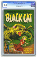 Golden Age (1938-1955):Horror, Black Cat Mystery #53 File Copy (Harvey, 1954) CGC NM- 9.2 Cream tooff-white pages. Only two copies of this issue have earn...