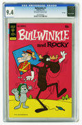 Bronze Age (1970-1979):Cartoon Character, Bullwinkle #7 File Copy (Gold Key, 1973) CGC NM 9.4 Off-white towhite pages. Overstreet 2005 NM- 9.2 value = $70. CGC censu...