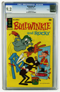 Bronze Age (1970-1979):Cartoon Character, Bullwinkle #8 File Copy (Gold Key, 1973) CGC NM- 9.2 Off-white towhite pages. Overstreet 2005 NM- 9.2 value = $70. CGC cens...