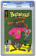 Bronze Age (1970-1979):Cartoon Character, Bullwinkle #23 File Copy (Gold Key, 1979) CGC NM 9.4 Off-white towhite pages. Overstreet 2005 NM- 9.2 value = $18. CGC cens...
