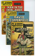 """Golden Age (1938-1955):Classics Illustrated, Classics Illustrated Original Editions Group (Gilberton, 1947-67).A VG/FN copy of the first and only edition of #74 (""""Mr. M...(Total: 9 Comic Books)"""
