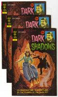 Bronze Age (1970-1979):Horror, Dark Shadows #13 Multiple Copies (Gold Key, 1972) Condition:Average VF. Three copies. Joe Certa art. Overstreet 2005 VF 8.0...(Total: 3 Comic Books)