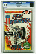 Bronze Age (1970-1979):Miscellaneous, Evel Knievel #nn (Marvel, 1974) CGC NM 9.4 Off-white to whitepages. Ideal Toy Corp promotional. Evel Knievel photo frontisp...