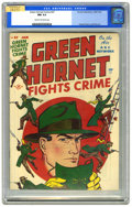 Golden Age (1938-1955):Crime, Green Hornet Comics #37 (Harvey, 1947) CGC NM 9.4 Cream to off-white pages. Bob Powell, Joe Simon, and Jack Kirby art. Highe...
