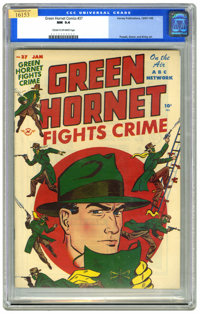 Green Hornet Comics #37 (Harvey, 1947) CGC NM 9.4 Cream to off-white pages. Bob Powell, Joe Simon, and Jack Kirby art. H...